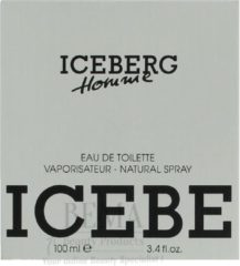 Homme - Eau De Toilette - 100ML - Iceberg