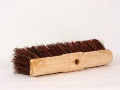 Bruine Meerman Straatbezem natuurvezel 45cm zonder steel