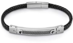 Argento Guess Bracciale Man Identity Placca