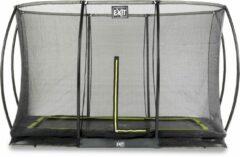 EXIT Toys Exit Silhouette Verlaagde Trampoline Met Veiligheidsnet Rechthoekig - 244 X 366 Cm - Zwart