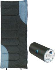 10-T Outdoor Equipment 10T Hudson XL Camping Schlafsack bis -13°C Outdoor Deckenschlafsack 200x80 cm Hüttenschlafsack mit leichten 1400g Trekking Reiseschlafsack für 3 / 4 J