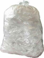 Jantex middelzware kwaliteit vuilniszakken transparant 200 stuks