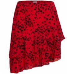 Rode Vila Rok Viaya Flouce voor dames - Rood