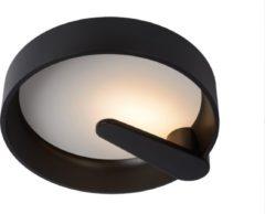 Lucide MIAMI Plafonnière - Ø 40 cm - LED Dimb. - 1x15W 3000K - Zwart