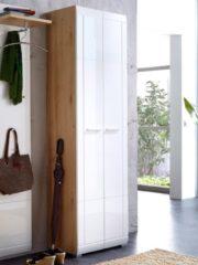 Garderobenprogramm Delia Germania Weiß/Buche