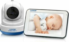 Witte Luvion Supreme Connect 2 HD Wifi Babyfoon met Camera én App - Premium Baby Monitor