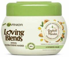 Garnier Loving Blends Voedende Amandelmelk & Agavesap Haarmasker 300ml