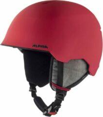 Rode Alpina Maroi Junior Skihelm | 2019 | Red Skull | Maat: 51 - 54 cm