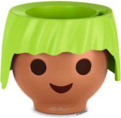 Lechuza - Playmobil - OJO appelgroen ALL-IN-ONE - educatieve bloempot