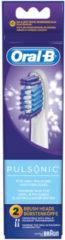 Procter&Gamble Braun EB Pulsonic 2er - Oral-B Aufsteckbürste Mundpflege-Zubehör EB Pulsonic 2er, Aktionspreis