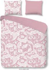 Roze Descanso Birza - Dekbedovertrek - Eenpersoons - 140x200/220 cm + 1 kussensloop 60x70 cm - Pink