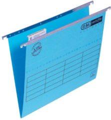 ELBA Hangmappen Ultimate A4 Blauw Karton V-bodem 23 5 x 31 cm 25 Stuks