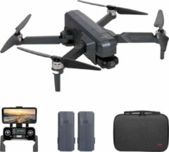 SJRC - F11 4K PRO EIS - DRONE - GPS - 5G WIFI FPV - BRUSHLESS MOTORS - UHD CAMERA - OPVOUWBAAR - SMART LiPo BATTERIJ -EXTRA ACCU - ZILVER GRIJS - ARODI