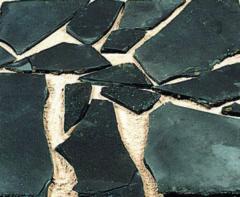 Zwarte Gardenlux Flagstones zwart pearl m2