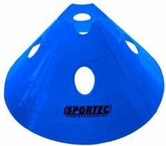 Sportec Afbakenbollen Soft Extra Groot Met Gaten Royal Blauw
