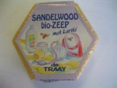 Traay Zeep sandelhout bio 100 Gram