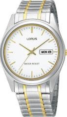 Lorus Herenhorloge Staal Goud- en zilverkleurig RXN99AX9