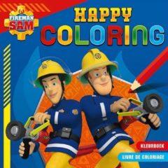 Deltas Kleurboek Brandweerman Sam Blauw