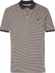 Blauwe NXG by Protest HUSH Polo Heren - Oxford Blue - Maat XL