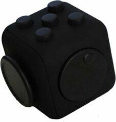 Fidget Cube Friemelkubus - Anti Stress Cube - Speelgoed Tegen Stress - Meer Focus & Concentratie - Fidget - Zwart