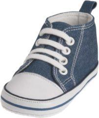 Playshoes babyschoenen Canvas junior jeansblauw