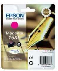 Paarse EPSON 16XL inktcartridge magenta high capacity 6.5ml 450 paginas 1-pack RF-AM blister