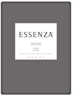 Afbeelding van Licht-grijze Essenza Home Essenza - Katoen-satijn - Kussensloop - 60x70 cm - Steel Grey