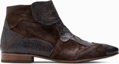 Bruine Paulo Bellini Boots Asti Leather Brown.