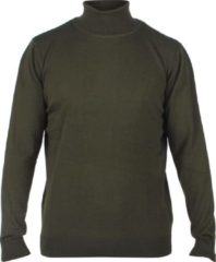 New Republic Enrico Polo - Heren pullover met colkraag - Army