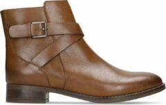 Clarks - Damesschoenen - Hamble Buckle - D - dak tan leather - maat 6