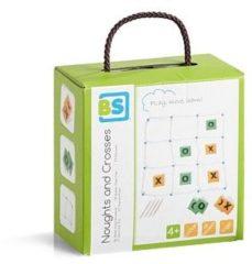 Groene BS Toys boter, kaas en eieren XL werpspel 16-delig
