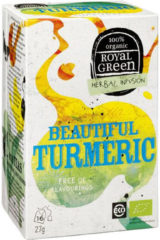 Royal Green Royal groen Beautiful turmeric 16 Stuks