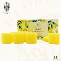 La Florentina Italiaans Home Made Handzeep Lemon Relaxing - 8 x 30 gr