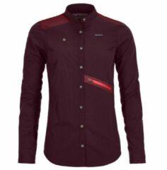 Ortovox - Women's Merino Ashby Shirt L/S - Overhemd maat S, purper
