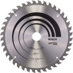 Bosch Ø 254 x30 x2,8 mm Kreissägeblatt Optiline Wood für Kapp & Gehrungssäge
