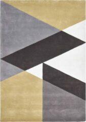 Claire Gaudion - Sark Coupee Taupe Vloerkleed - 170x240 cm - Rechthoekig - Laagpolig Tapijt - Modern - Meerkleurig