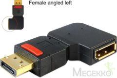 Zwarte DeLOCK 65377 DisplayPort DisplayPort Zwart kabeladapter/verloopstukje