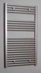 Sanicare design radiator recht 111,8 x 60 cm. inox look