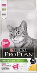 Pro Plan Kat Sterilised Adult 1+ - Rijk aan Kip - Kattenvoer - 10 kg