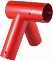 Rode Intergard Speeltoestelverbinding voor speeltoestellen ø100x80x80mm