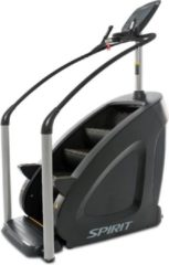 Grijze Spirit Fitness CSC900 Stairclimber - Professionele Stairclimber voor Commercieel Gebruik - Nieuwste Model 2020 - Uitstekende Garantie - Hoogwaardig Fitnessapparaat / CrossFit Apparaat / Fitnesstoestel - Ook voor Thuisgebruik