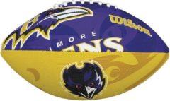 Paarse Wilson F1534XB NFL Team Logo American Football Ravens