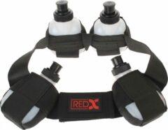 Red-x Bidonriem Voor 4 Bidons Zwart Maat M