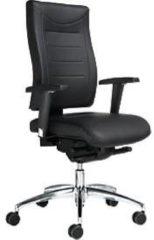 Bürostuhl SSI Proline P3 Deluxe, ohne Armlehnen, mit oder ohne Kopfstütze, Rindleder
