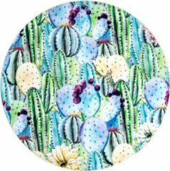 Paarse Moodadventures | Muismatten | Muismat Desert Purple | Rond | 20 x 20 cm.