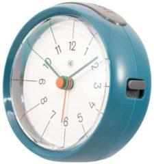 NeXtime NX-7344BL Alarmklok NXt Otto Ø 9,5 X 3.8 Cm Blauw