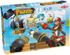 Tactic Piraten Puzzel Sea Battle - 56 Stukjes