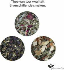 Come and Tea - 225 gram verse thee - Losse thee - Kwaliteit thee - Zwarte thee - Gezonde thee - Kruiden thee - Cadeau pakket - Thee pakket voor een ontspannen momentje
