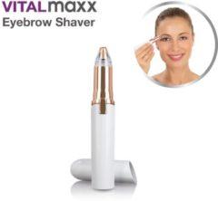 VM wenkbrauw trimmer - Eyebrow Shaver Wenkbrauw Epilator - Elektrische Trimmer Met LED Lamp - Mini trimmer - gezicht epilator - zakformaat – gezichtsontharing