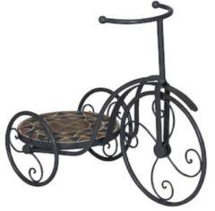 Gardissimo Mosaik-Fahrrad-Pflanzenständer 'Florenz' Gardissimo Bronze